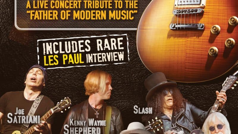 A Tribute To Les Paul: Live From Universal Studios Hollywood coming to DVD on September 8th