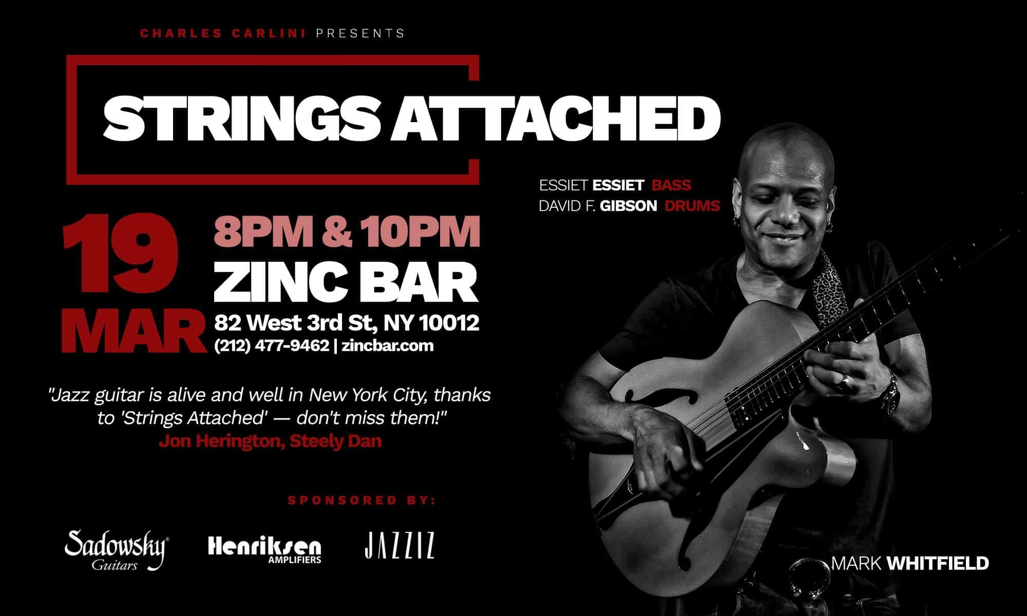 Strings Attached ft. Mark Whitfield