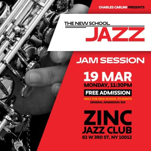 The New School Jazz Jam Session