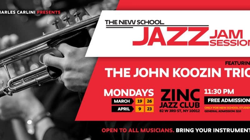 School of Jazz and Contemporary Music at The New School Announces Performance Series at Zinc