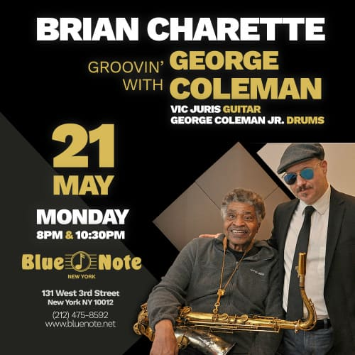 Brian Charette Groovin' with George Coleman CD Release Party