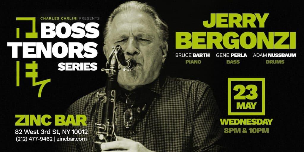 Boss Tenors Series: Jerry Bergonzi Quartet