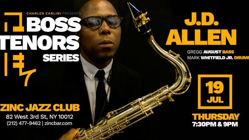Boss Tenors Series a Regular Feature at NYC's Zinc Jazz Club