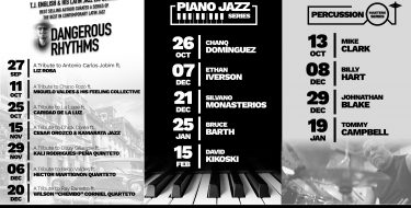 In Touch Entertainment Announced Today Its Fall/Winter Jazz Series Lineup