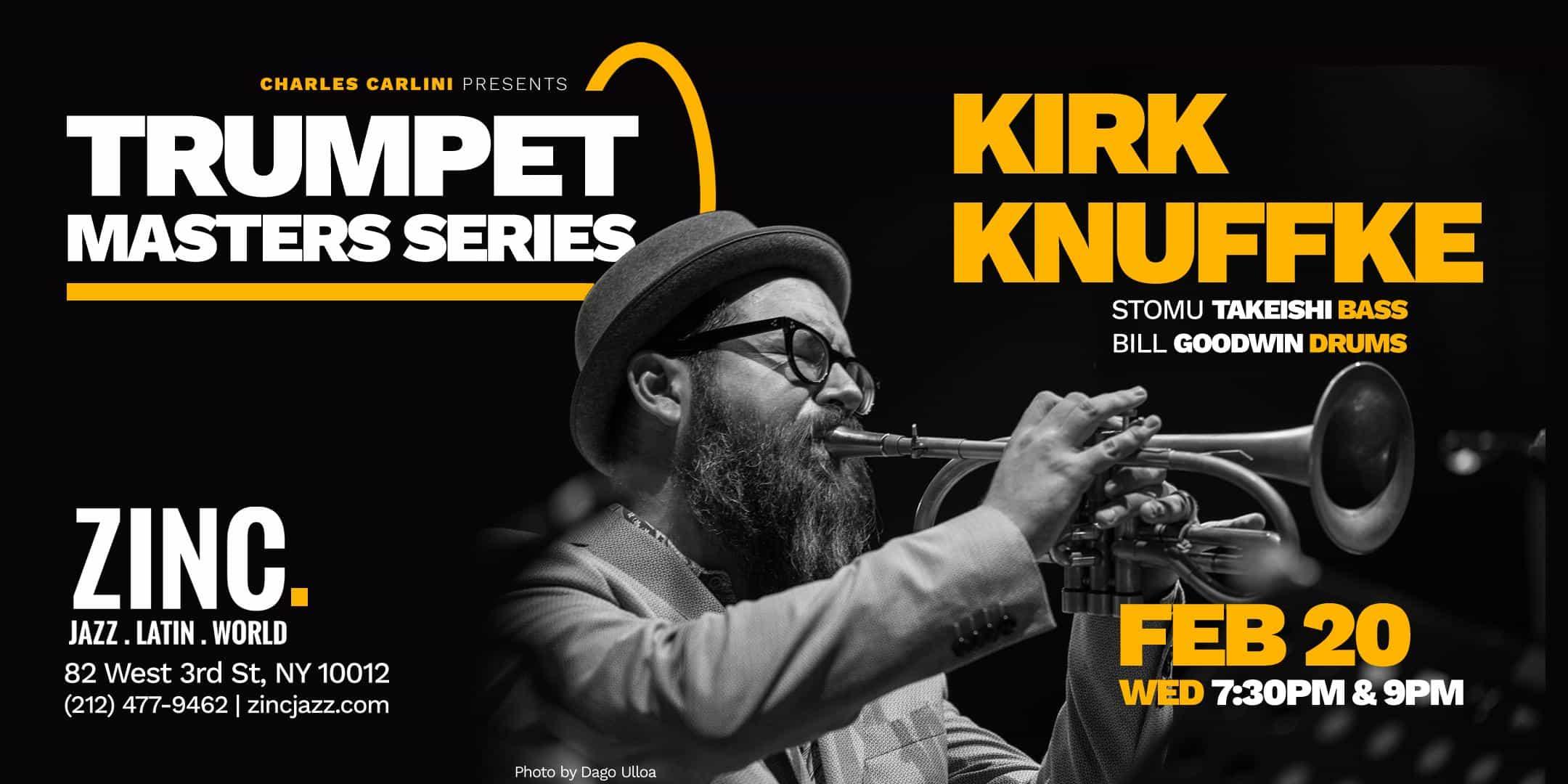 Trumpet Masters Series: Kirk Knuffke Trio