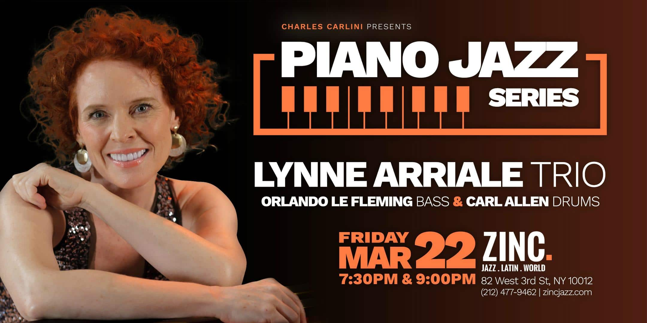 Piano Jazz Series: Lynne Arriale Trio