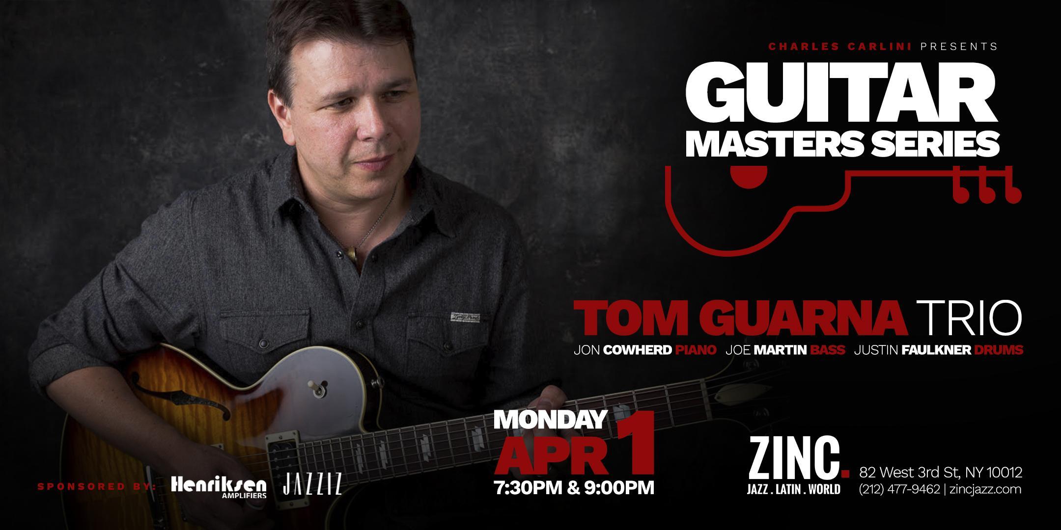 Guitar Masters Series: Tom Guarna Quartet
