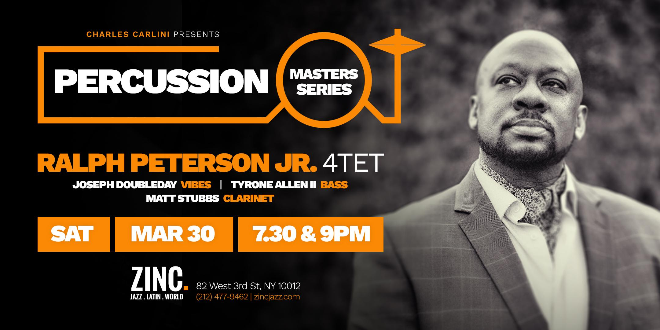 Percussion Masters Series: Ralph Peterson Fo'tet