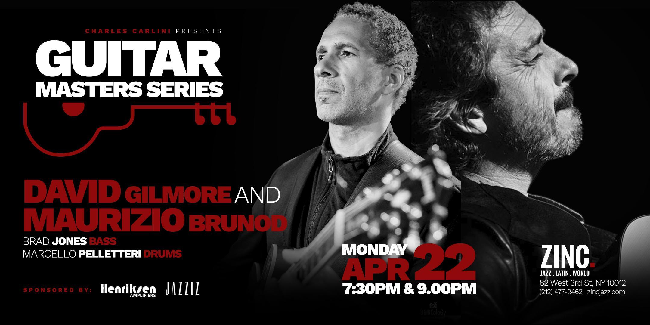 Guitar Masters Series: David Gilmore/Maurizio Brunod Quartet