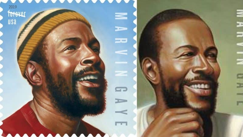Soul Icon Marvin Gaye gets a New Stamp, a New Album on 80th Birthday