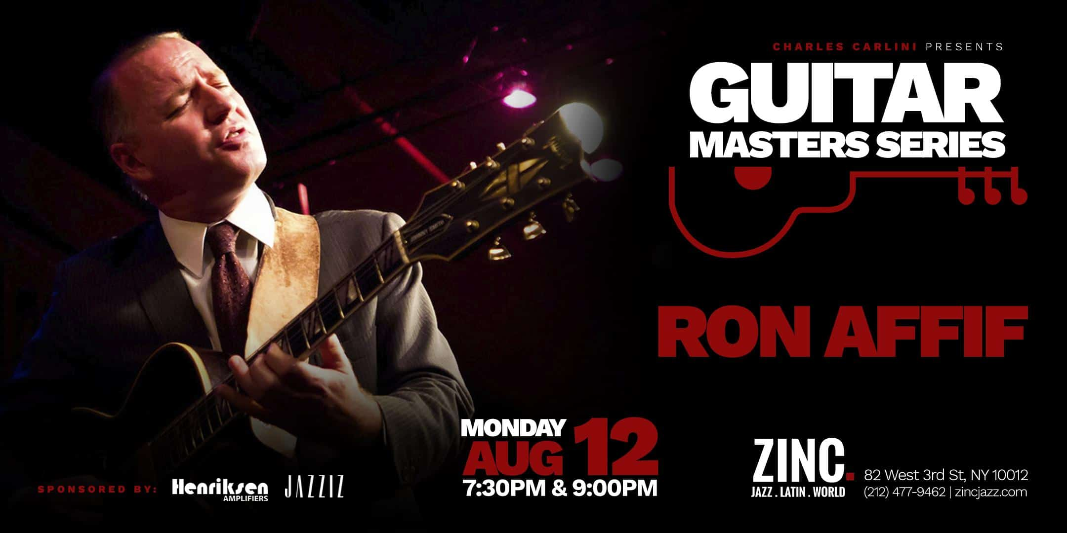 Guitar Masters Series: Ron Affif