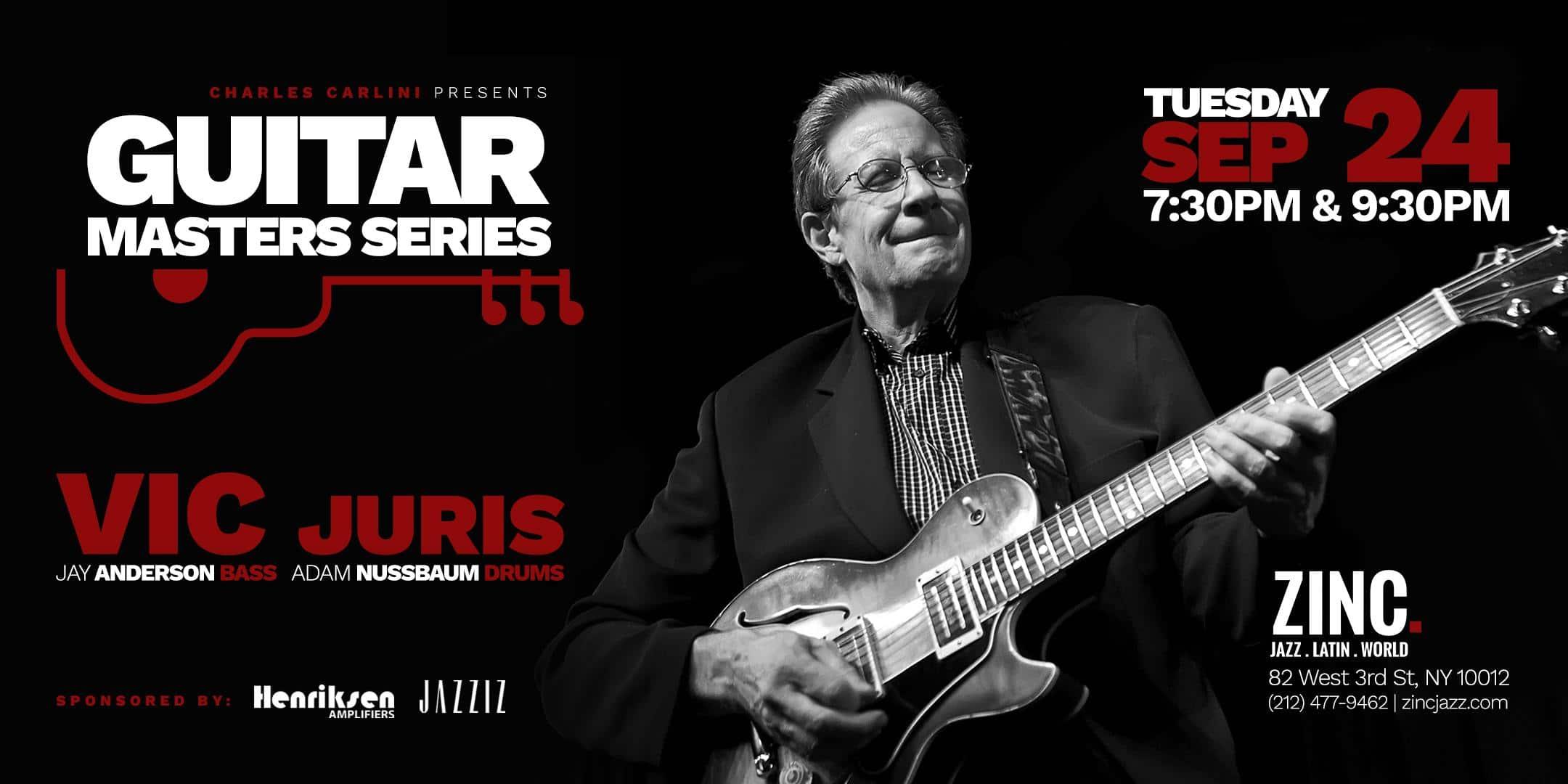 Guitar Masters Series: Vic Juris