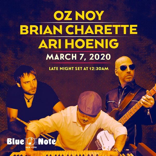 Oz Noy, Brian Charette, Ari Hoenig Project